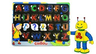 ABC with Caillou - LEARN with the NEW A to Z Puzzle - Toys for kids ADVERTISEMENT