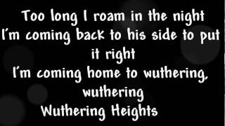 Kate Bush - Wuthering Heights Lyrics