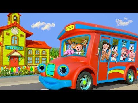 Xxx Mp4 Wheels On The Bus Kindergarten Nursery Rhymes For Kids Cartoons For Babies By Little Treehouse 3gp Sex