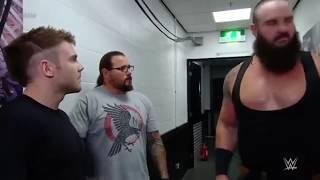 Braun Strowman hunts for Baron Corbin Nov  5, 2018
