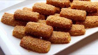 حلوى أصابع السميد وجوز الهند الجديدة تذووووب وتجهز في دقائق /وصفات رمضان 2018