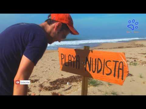 PLAYA NUDISTA videos que dan risa chistoso bromas Acapulco 2014