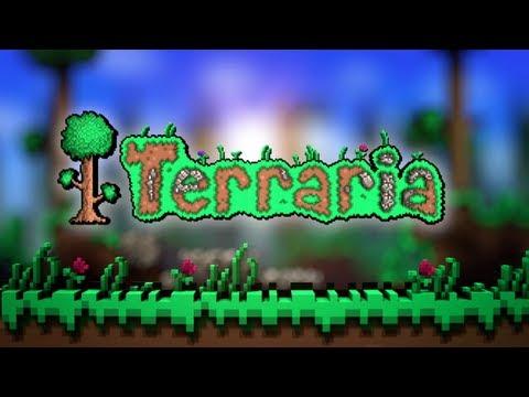 Учимся играть в Terraria #1 [Строим дом]