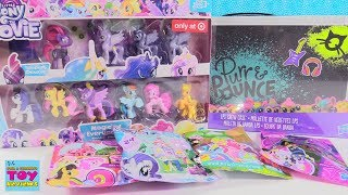 My Little Pony Movie & LPS Purr & Pounce Blind Bag Toy Review | PSToyReviews