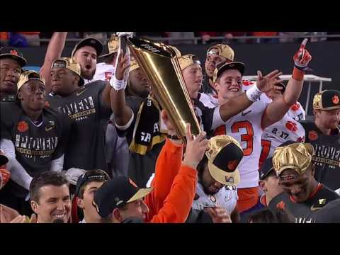 Rece Davis calls national title game one of best ever