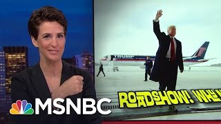Donald Trump Lays Out Pre-Inauguration 'Thank You' Tour | Rachel Maddow | MSNBC