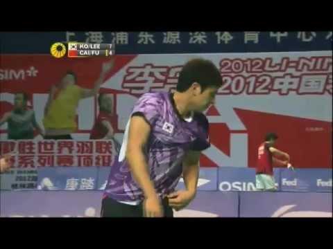 QF - MD - Ko S.H./Lee Y.D. vs Cai Y./Fu H. - 2012 China Open