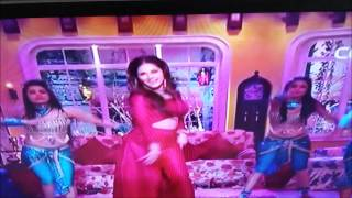 'Sunny Leone Hot' Song and Dance in Red 'Hot Dress'