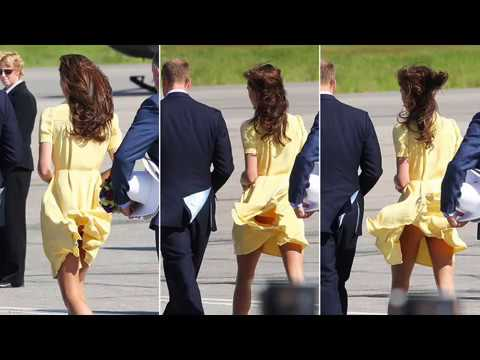 Kate Middleton gives Calgary the Bums Rush lol