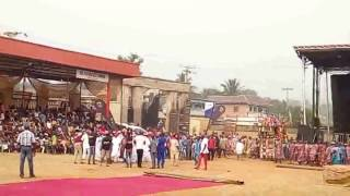 Brief Clip of Nimo Cultural Festival / Mass Return 27 Dec. 2016
