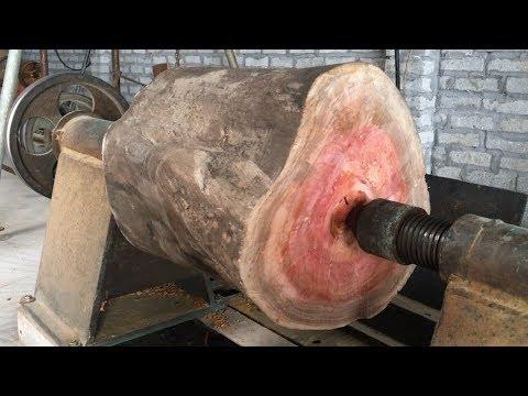 Xxx Mp4 Amazing Techniques Extreme Fast Woodworking Creative Smart Work Wooden Lathe Art 3gp Sex