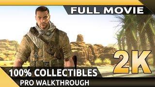 Sniper Elite 3 (PC) - Full Movie - Gameplay Walkthrough - 100% Collectibles [1080p 60fps]