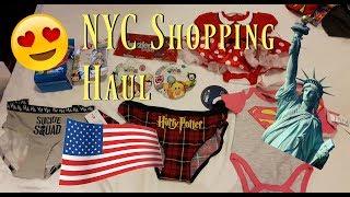 New York City Shopping Haul   Squishies, Tsum Tsums, Target etc
