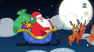 Hier kommt Herr Santa | Weihnachtsmann Lied | Weihnachtsreime | Here Comes Mister Santa