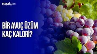 Bir avuç üzüm kaç kalori? (100 gr.)   Diyet-Kilo   Nasil.com