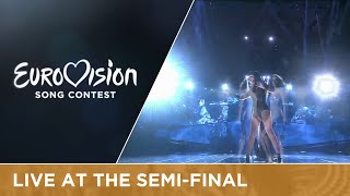 Iveta Mukuchyan - LoveWave (Armenia) Live at Semi - Final 1 at the 2016 Eurovision Song Contest