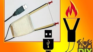 DIY Portable Hot Wire Cutter.
