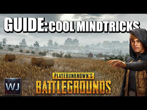 GUIDE Awesome MINDTRICKS & Hideouts Trick your enemies PLAYERUNKNOWN s BATTLEGROUNDS
