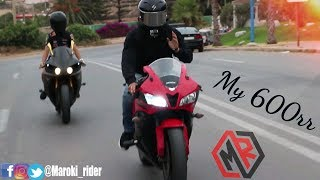 MRvlog#10: Compilation Moto Honda 600rr - اول فيديو صايبت ليوتوب
