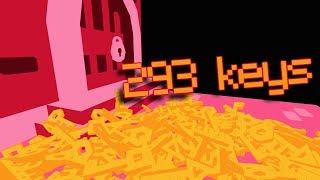 293 Schlüssel. Eine Tür.