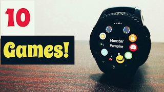 10 Cool Games for Gear S3 Frontier!