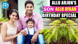 Allu Arjun's Son Allu Ayaan Birthday Special Video || iDream Filmnagar