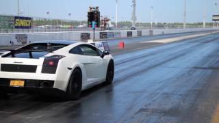 Underground Racing UGR Twin Turbo Lamborghini Gallardo Drag Racing 1/4 Mile