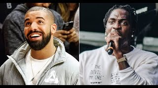 Drake Comments on His Diss Towards Pusha T