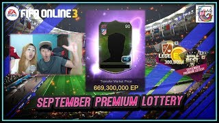 ~I Hate Lotteries!~ September Premium Lottery Opening - FIFA ONLINE 3 (ENGLISH)