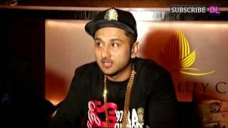 Yo Yo Honey Singh looks sleep deprived at a press conference