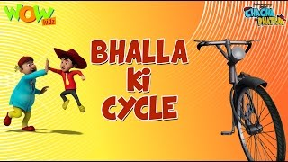 Download Bhalla Ki Cycle - Chacha Bhatija - Wowkidz 3Gp Mp4