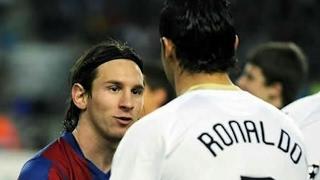 عندما التقى كرستيانو رونالدو و ليو ميسي لأول مرة When Cristiano Ronaldo and Lionel Messi met for the