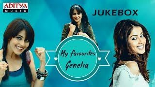 My Favourite ♥ Genelia ♥ Telugu Hit Songs Jukebox