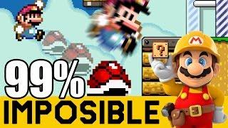 La Venganza de PANGA: Skyzo Final - NIVELES 99% IMPOSIBLES #37 |Super Mario Maker| ZetaSSJ