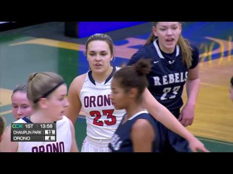 Champlin Park vs. Orono Girls High School Basketball