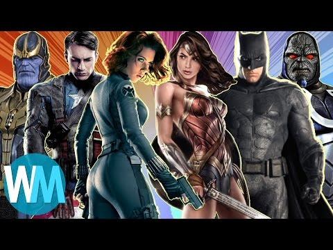 Xxx Mp4 Top 10 Biggest Differences Between Marvel And DC 3gp Sex