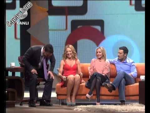 Hadise İnanılmaz Frikikler Bacak & Gögüs Süper & Beyaz Show