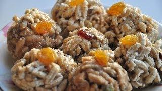 Khoi-er or Joynagarer Moa | Bengali Sweet Laddu | Bengali Home Cooking