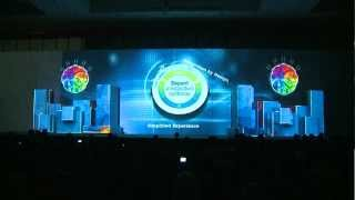 Stage 3D Video Mapping, Product Launching - IBM Co
