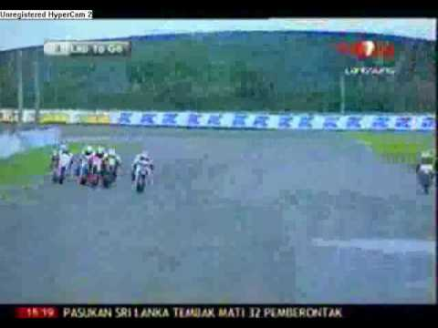 indoprix 2009 seri 1 sentul IP2 125 cc race 2 part 2