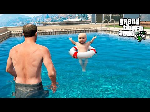 гта 5 рыбалка с сыном