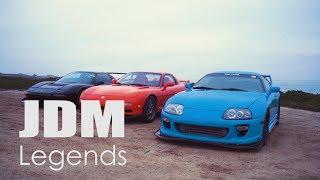 Mazda RX7 vs Honda NSX vs Toyota Supra - Experience the '90s JDM Legends
