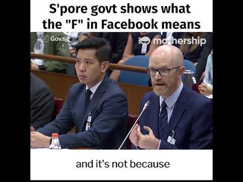 Xxx Mp4 Minister K Shanmugam Vs Facebook 39 S Simon Milner Select Committee On Deliberate Online Falsehoods 3gp Sex