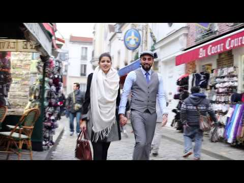 Pre Wedding Song 2016  | Indian Sikh Wedding in Paris France  | Surjit & Kiran
