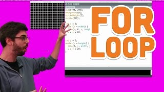 6.3: For Loop - Processing Tutorial