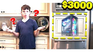 HIDING a $3000 *SECRET* COMPUTER from MY LITTLE BROTHER!