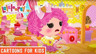 Crumbs' Sweet Treats | Super Silly Party | We're Lalaloopsy | Now Streaming on Netflix!