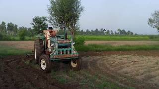 Waqar Chattha Drive FIAT 640 Tractor 2017 Must Watch.