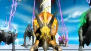 【Dinosaur King AMV】 Final Battle Roshin Yuukai 【In Live by Rin Kagamine】