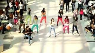 Flash Mob In Kazakhstan (Astana) Nosa Nosa - Michel Teló / نوسا نوسا